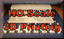Find 3D HO scale printing for model railroading. You can 3D print buildings, structures, accessories, and tools for your HO Scale model train set. So start 3D printing for your model rail roading experience.