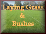 Laying Grass & Bushes for your model train set landscaping and model railroading experience at KraftTrains.com.