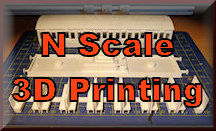 Find 3D N scale printing for model railroading. You can 3D print buildings, structures, accessories, and tools for your N Scale model train set. So start 3D printing for your model rail roading experience.