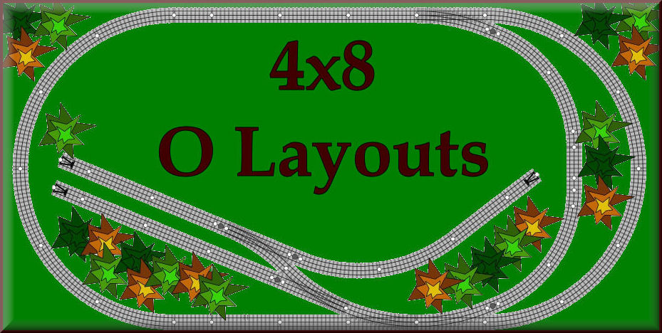 See all the 4x8 O scale model train sets layouts krafttrains.com can offer you. Build your dream 4x8 O scale model railroad that you always you wanted. So start with KraftTrains.com and see how to start building your own 4x8 O scale train set layout.