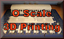 Find 3D O scale printing for model railroading. You can 3D print buildings, structures, accessories, and tools for your O Scale model train set. So start 3D printing for your model rail roading experience.
