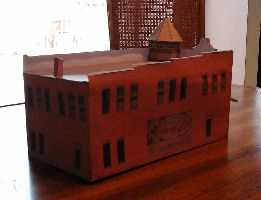 Free 3D Printable Coffee Shops & Restaurants HO Scale Model