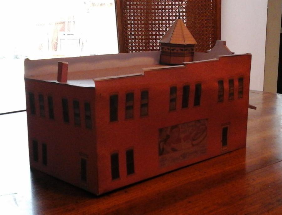 Free printable HO Scale Model Train Set Railroad coffee shops