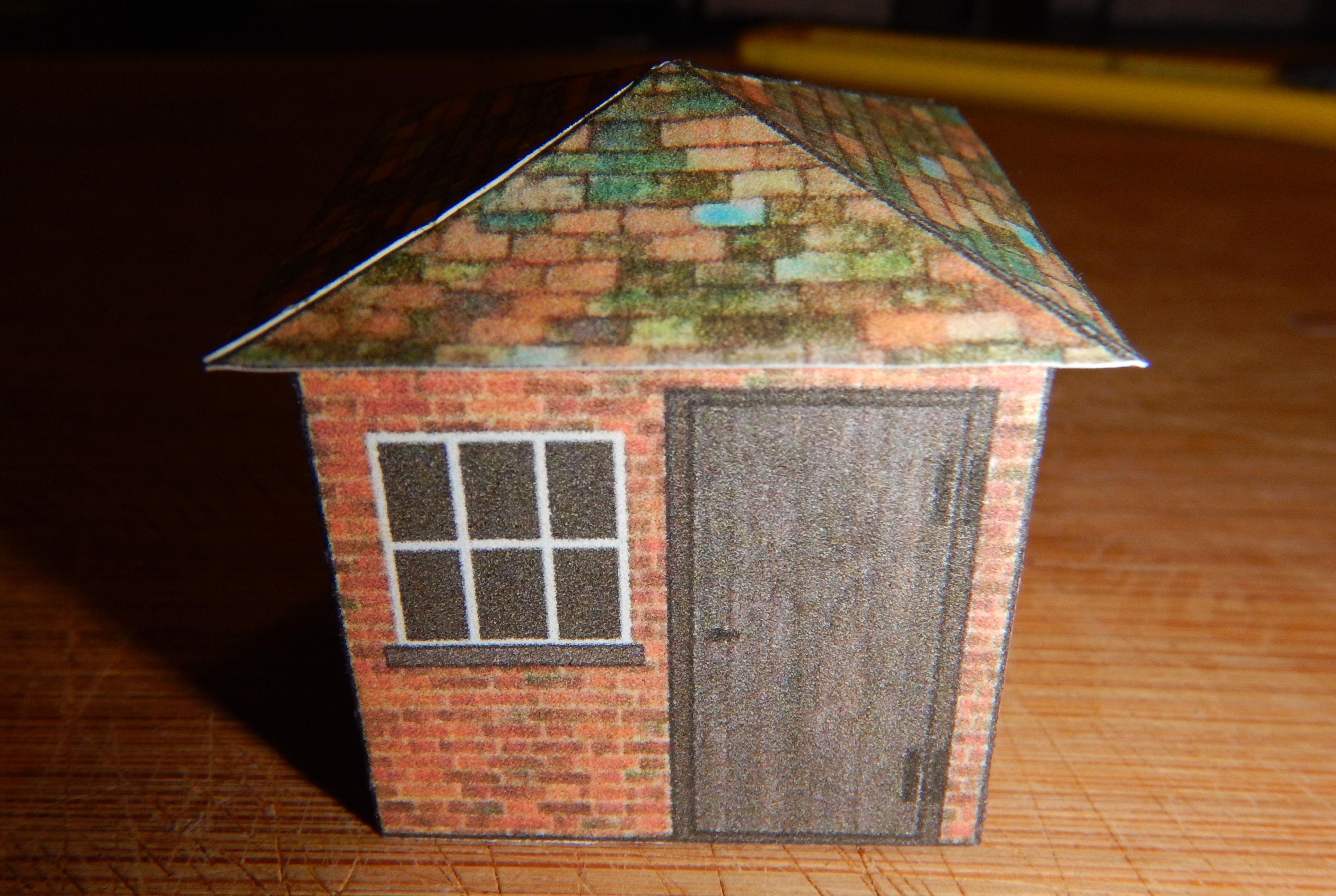 Build Your Own Free Printable Back Yard Brick Storage ...