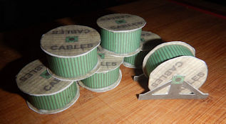 Make your own printable N scale model train set cable drums for your N scale model railroading train set experience. Download your free model train set cable drums for your N scale model train set.