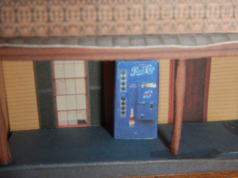 Make your own printable N Scale Classic Pepsi Vending Machines 17 Different Types for your N scale model railroading train set experience. Download your free model Classic Pepsi Vending Machines for your N scale model train set at www.krafttrains.com