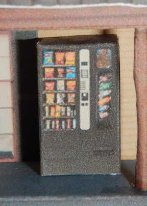Make your own printable N Scale Snack Vending Machines 17 Different Types for your N scale model railroading train set experience. Download your free model Snack Vending Machines for your N scale model train set at www.krafttrains.com .