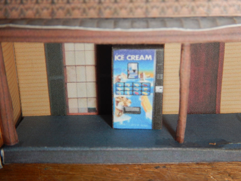 Make your own printable N Scale Ice Cream Vending Machines 17 Different Types for your N scale model railroading train set experience. Download your free model Ice Cream Vending Machines for your N scale model train set at www.krafttrains.com .
