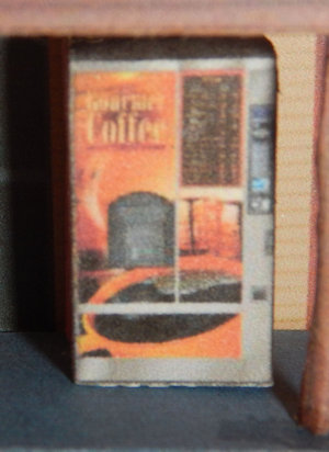 Make your own printable N Scale Coffee Vending Machines 17 Different Types for your N scale model railroading train set experience. Download your free model Coffee Vending Machines for your N scale model train set at www.krafttrains.com