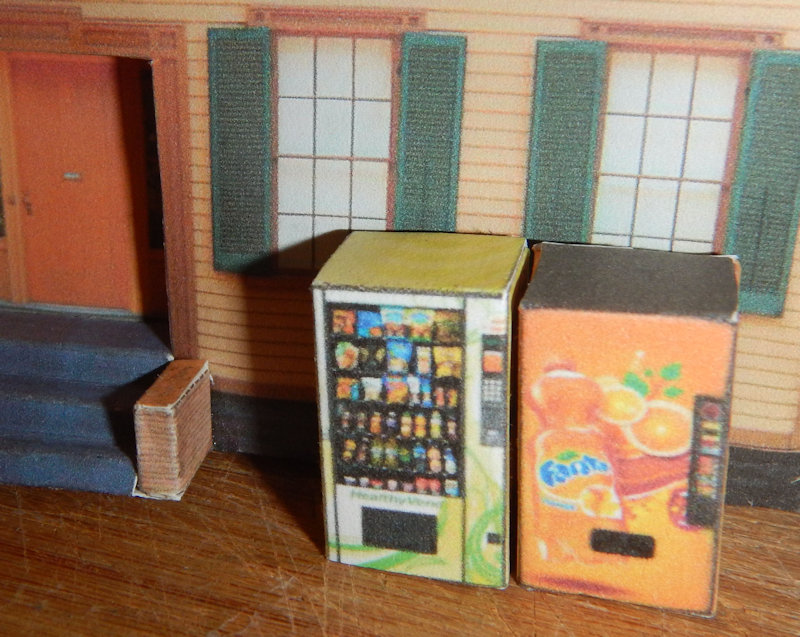 Download your N Scale Vending Machines 17 Different Types. Make your own printable N Scale Vending Machines 17 Different Types for your N scale model railroading train set experience. Download your free model train set Vending Machines for your N scale model train set at www.krafttrains.com