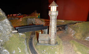 This free PDF printable n scale stone lighthouse templates that you cut out and fold to build your n scale stone lighthouse models, and includes instructions for folding your n scale stone lighthouse models. Build your own structures with krafttrains.com for your n scale model train set stone lighthouse.